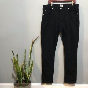 Hudson Jeans Sartor Slouchy Skinny Jeans Size 36